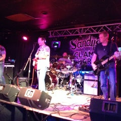 Photo taken at Sandy's Clam Bar by Stephanie R. on 6/13/2014