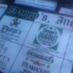 Photo taken at Fitzgerald's Dango's Steak House, Irish Pub & Sports Bar by Stephanie R. on 5/17/2014