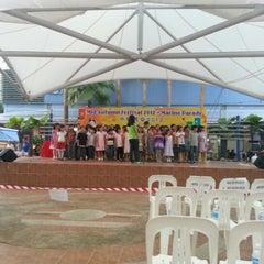 Photo taken at Marine Terrace Market & Food Centre by Arthur C. on 9/29/2012