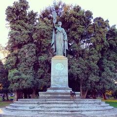 Photo taken at William McKinley Statue by Bryan D. on 1/14/2014