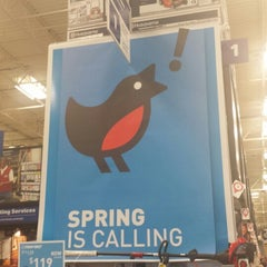 Photo taken at Lowe's Home Improvement by Jeanne D. on 3/29/2014