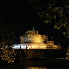 Photo taken at Ponte Sant'Angelo by Seba K. on 6/17/2013