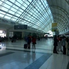 Photo taken at Terminal 3 by Dima M. on 4/21/2013