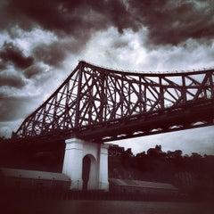 Photo taken at Story Bridge by Rodrigo B. on 2/4/2013