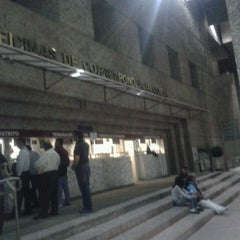 Photo taken at Palacio De Justicia Federal by Jorge M. on 4/3/2013