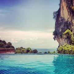 Photo taken at Railay Phutawan Resort by David M. on 4/20/2014