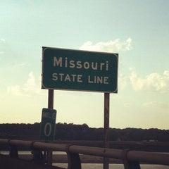 Photo taken at Missouri / Illinois State Line by Victoria E. on 9/21/2012