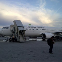 Photo taken at Sultan Aji Muhammad Sulaiman Sepinggan Balikpapan International Airport (BPN) by Dhaniswara D. on 2/2/2013
