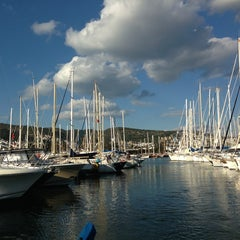 Photo taken at Milta Bodrum Marina by Ilhami A. on 3/17/2013