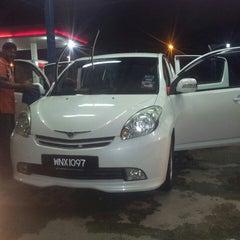 Photo taken at CarWash Caltex Subang by Mohd A. on 4/8/2013