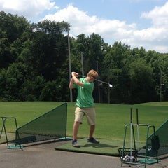 Photo taken at Leatherman Golf Learning Center by Kaitland on 6/21/2013