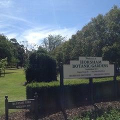 Photo taken at Botanical Gardens Horsham by Ryan S. on 12/27/2012