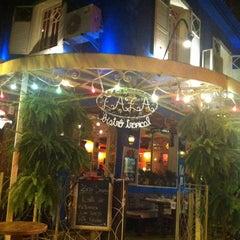 Photo taken at Zazá Bistrô Tropical by Sandro C. on 12/31/2012