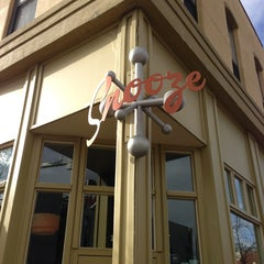 Photo taken at Snooze by Caitlin K. on 3/22/2013