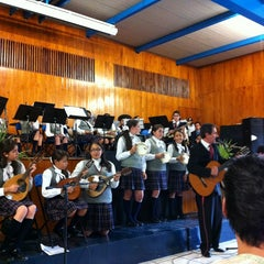 Photo taken at Instituto Inglés Mexicano by Ariadna R. on 6/13/2013