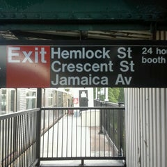 Photo taken at MTA Subway - Cypress Hills (J) by Roger B. on 5/31/2014