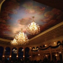 Photo taken at Be Our Guest Restaurant by Cait P. on 1/26/2013
