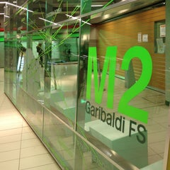 Photo taken at Metro Garibaldi FS (M2, M5) by Ross d. on 1/15/2013