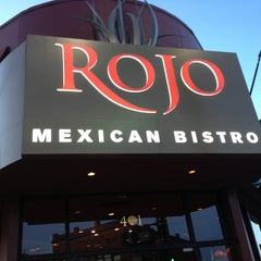 Photo taken at Rojo Mexican Bistro Rochester by Ross d. on 3/5/2013