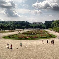 Photo taken at Schloss Schönbrunn by Alex L. on 7/15/2013