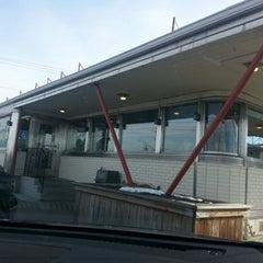 Photo taken at Skylark Diner by Brigit P. on 1/8/2013
