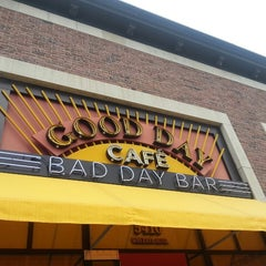 Photo taken at Good Day Café Bad Day Bar by January B. on 7/6/2013