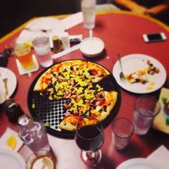 Photo taken at Michael's Pizza by Stockton, California on 10/15/2013
