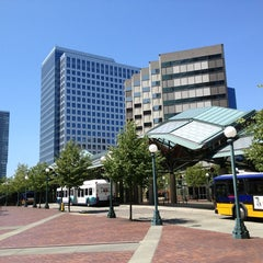 Photo taken at Bellevue Transit Center by Tong M. on 7/20/2013