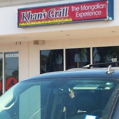 Photo taken at Khan's Grill by Johnny N. on 5/17/2014