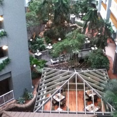 Photo taken at Embassy Suites by Hilton Pittsburgh International Airport by Erica S. on 2/16/2013