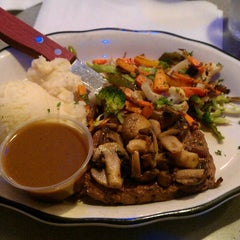 Photo taken at Landmark Diner by Rachel M. on 3/29/2013