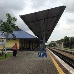 Photo taken at Stesen Keretapi Kluang by Tun M. on 11/5/2012