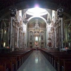 Photo taken at Templo de San Francisco by Yuri N. on 6/15/2013