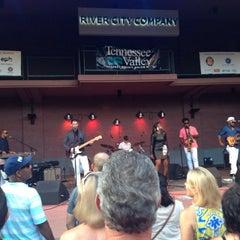 Photo taken at Nightfall Concert Series by Julie B. on 7/26/2014
