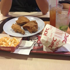 Photo taken at KFC - Asia Hotel by Kevin T. on 1/25/2013