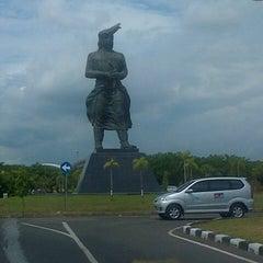 Photo taken at Sultan Hasanuddin International Airport (UPG) by Yusman S. on 5/10/2013