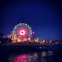 Photo taken at Santa Monica Pier by Freek D. on 4/28/2013