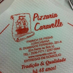 Photo taken at Caravelle Pizzaria by Adriana A. on 10/16/2012