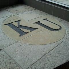 Photo taken at Kansas Union by Katie O. on 1/27/2012