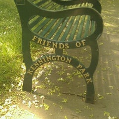 Photo taken at Kennington Park by Derek C. on 9/2/2011