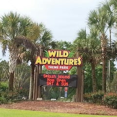 Photo taken at Wild Adventures Theme Park by Angela A. on 4/20/2013