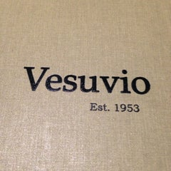 Photo taken at Vesuvio Pizzeria & Restaurant by Orlando M. on 9/2/2013