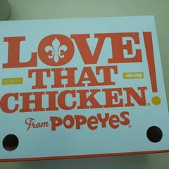 Photo taken at Popeye's Chicken & Biscuits by Kay P. on 8/21/2013