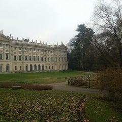 Photo taken at Giardini di Villa Reale by Eni Cultura on 1/11/2013