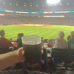 Photo taken at The Braves Chop House by Jennie O. on 4/11/2015