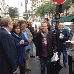 Photo taken at Rue de Bretagne by Anne H. on 9/28/2013