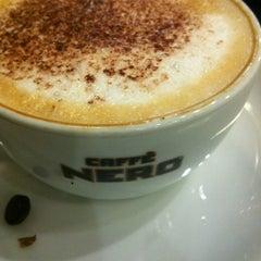Photo taken at Caffè Nero by 🎀İrem A. on 2/27/2013