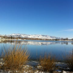 Photo taken at Prospect Lake by Val S. on 3/24/2013