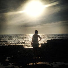 Photo taken at Anjuna Beach by Dmitry D. on 12/19/2012