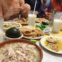 Photo taken at Pozole Casa Licha by GiovBass D. on 1/20/2013